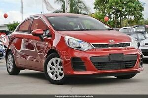 2016 Kia Rio UB MY16 S Red 4 Speed Sports Automatic Hatchback Invermay Launceston Area Preview