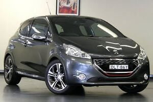 2014 Peugeot 208 A9 MY13 GTi Grey 6 Speed Manual Hatchback Chatswood Willoughby Area Preview