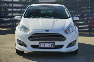 2015 Ford Fiesta WZ MY15 Sport PwrShift White 6 Speed Sports Automatic Dual Clutch Hatchback Maddington Gosnells Area Preview