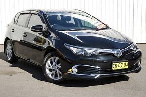 2015 Toyota Corolla ZRE182R Ascent Sport S-CVT Black 7 Speed Constant Variable Hatchback Kings Park Blacktown Area Preview