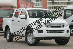 2014 Isuzu D-MAX MY14 SX Crew Cab 4x2 High Ride White 5 Speed Sports Automatic Utility Blacktown Blacktown Area Preview