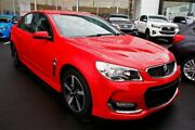 2017 Holden Commodore VF II MY17 SV6 Red 6 Speed Sports Automatic Sedan Mill Park Whittlesea Area Preview
