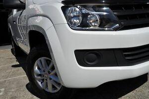 2015 Volkswagen Amarok 2H MY15 TDI420 4MOT White 8 Speed Automatic Utility Mosman Mosman Area Preview