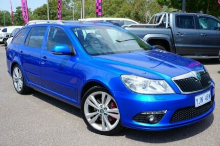 2011 Skoda Octavia 1Z MY12 RS DSG 147TSI Blue 6 Speed Sports Automatic Dual Clutch Wagon Phillip Woden Valley Preview