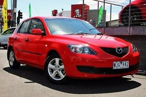 2008 Mazda 3 BK10F2 Neo Red 4 Speed Sports Automatic Hatchback Coburg Moreland Area Preview