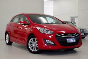 2013 Hyundai i30 GD Elite Red 6 Speed Sports Automatic Hatchback Myaree Melville Area Preview