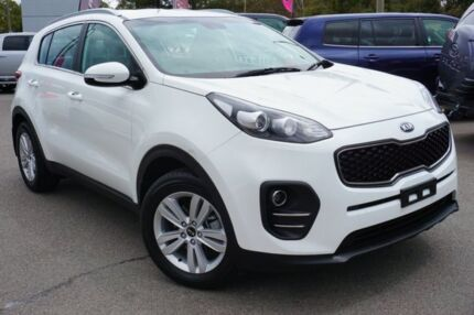 2017 Kia Sportage QL MY17 Si 2WD White 6 Speed Sports Automatic Wagon Phillip Woden Valley Preview