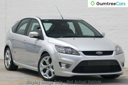 2010 Ford Focus LV Mk II XR5 Turbo Silver 6 Speed Manual Hatchback Wangara Wanneroo Area Preview