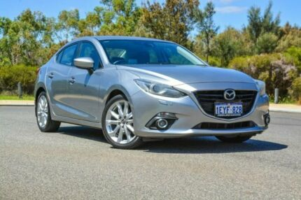 2014 Mazda 3 BM5238 SP25 SKYACTIV-Drive GT Silver 6 Speed Sports Automatic Sedan Wilson Canning Area Preview