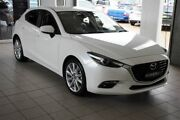 2016 Mazda 3 BN MY17 SP25 GT Snowflake White 6 Speed Automatic Hatchback Thornleigh Hornsby Area Preview