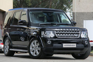 2016 Land Rover Discovery Series 4 L319 MY16.5 SDV6 SE Black 8 Speed Sports Automatic Wagon Petersham Marrickville Area Preview