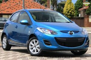 2013 Mazda 2 DE10Y2 MY14 Neo Sport Blue 4 Speed Automatic Hatchback Maryborough Fraser Coast Preview