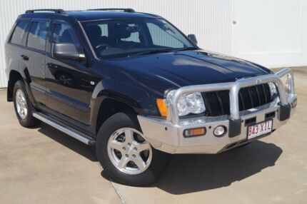 2009 Jeep Grand Cherokee WH MY2010 Laredo Black 5 Speed Automatic Wagon