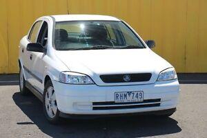 2001 Holden Astra TS CD White 4 Speed Automatic Sedan Heatherton Kingston Area Preview