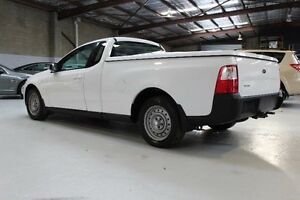 2010 Ford Falcon FG White Automatic Utility Knoxfield Knox Area Preview