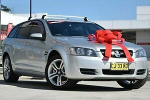 2008 Holden Commodore VE MY09 Omega Sportwagon Silver 4 Speed Automatic Wagon Pennant Hills Hornsby Area Preview