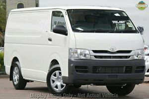 2009 Toyota Hiace KDH201R MY08 LWB White 4 Speed Automatic Van Mindarie Wanneroo Area Preview