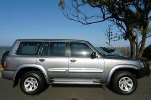2004 Nissan Patrol GU III MY2003 ST-L Silver 5 Speed Manual Wagon South Gladstone Gladstone City Preview