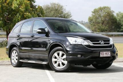 2009 Honda CR-V RE MY2007 Sport 4WD Crystal Black 5 Speed Automatic Wagon Springwood Logan Area Preview