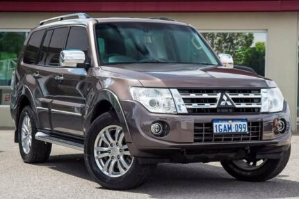 2014 Mitsubishi Pajero NW MY14 Exceed Bronze 5 Speed Sports Automatic Wagon Bayswater Bayswater Area Preview