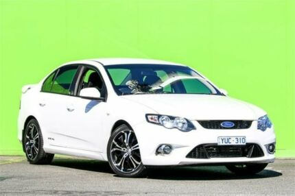 2008 Ford Falcon FG XR6 White 6 Speed Sports Automatic Sedan