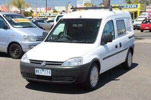 2008 Holden Combo XC MY08 White 5 Speed Manual Van Heatherton Kingston Area Preview