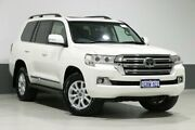 2015 Toyota Landcruiser VDJ200R MY16 Sahara (4x4) Crystal Pearl 6 Speed Automatic Wagon Bentley Canning Area Preview