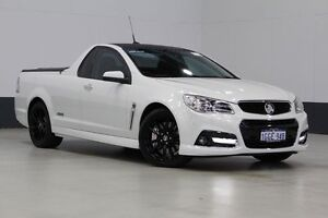 2014 Holden Ute VF SS-V Redline White 6 Speed Manual Utility Bentley Canning Area Preview