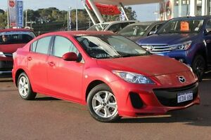 2013 Mazda 3 BL10F2 MY13 Neo Activematic Red 5 Speed Sports Automatic Sedan Myaree Melville Area Preview