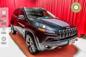 2016 Jeep Cherokee LEATHER! BACK UP CAM! 8.4 SCREEN!