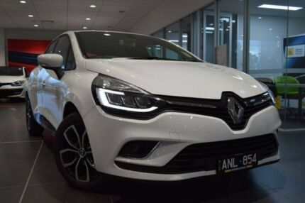 2017 Renault Clio IV B98 Phase 2 Zen EDC White 6 Speed Sports Automatic Dual Clutch Hatchback