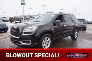 2016 GMC Acadia SLE ALL WHEEL DRIVE Accident Free,  Back-up Cam,