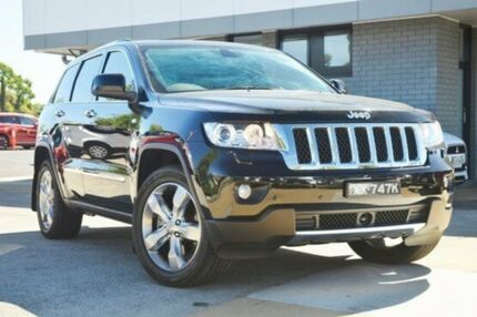 2012 Jeep Grand Cherokee WK MY2013 Overland Black 5 Speed Sports Automatic Wagon Hillcrest Port Adelaide Area Preview