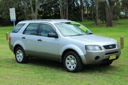 2005 Ford Territory TX Silver Automatic Wagon