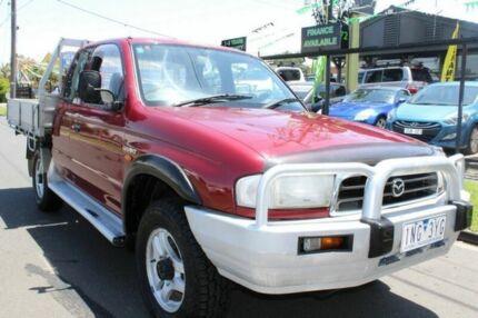 1999 Mazda Bravo Maroon Manual 4x4 Kingcab West Footscray Maribyrnong Area Preview
