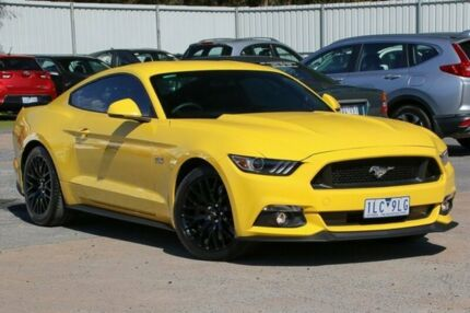 2016 Ford Mustang FM MY17 GT Fastback Yellow 6 Speed Manual Fastback