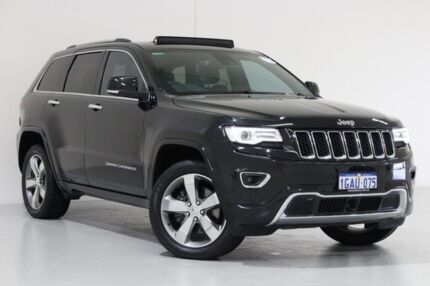2013 Jeep Grand Cherokee WK MY13 Overland (4x4) Black 5 Speed Automatic Wagon