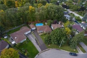 Detached Bungalow Backs Onto The Park Awaits You! View Today!