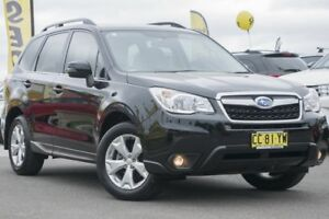 2015 Subaru Forester S4 MY15 2.5i-L CVT AWD Black 6 Speed Constant Variable Wagon