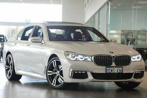2016 BMW 740I G11 Steptronic White 8 Speed Sports Automatic Sedan Wangara Wanneroo Area Preview
