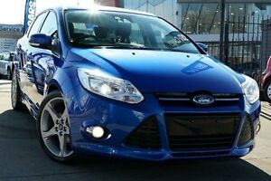 2013 Ford Focus LW MKII Titanium PwrShift Blue 6 Speed Sports Automatic Dual Clutch Hatchback Pearce Woden Valley Preview