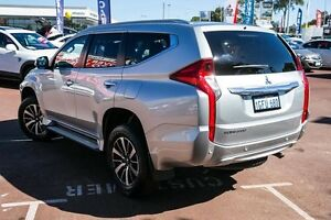 2016 Mitsubishi Pajero Sport QE MY16 GLS Silver 8 Speed Sports Automatic Wagon Wilson Canning Area Preview