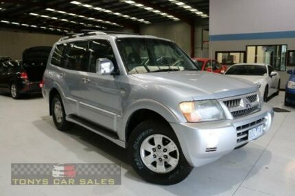 2004 Mitsubishi Pajero NP GLS Silver Sports Automatic Wagon Laverton North Wyndham Area Preview