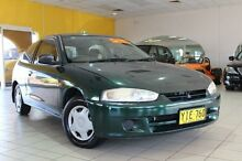 2001 Mitsubishi Mirage CE Green 4 Speed Automatic Hatchback Jamisontown Penrith Area Preview