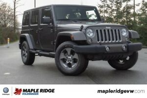 2018 Jeep Wrangler JK Unlimited Sport S 4X4, 4 DOOR, ALMOST BRAN