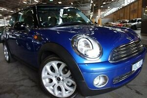 2009 Mini Hatch R56 Cooper Steptronic Chilli Blue 6 Speed Sports Automatic Hatchback Port Melbourne Port Phillip Preview