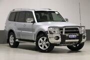 2011 Mitsubishi Pajero NT MY11 Series II RX Limited Edition (4x4) Silver 5 Speed Auto Sports Mode Bentley Canning Area Preview