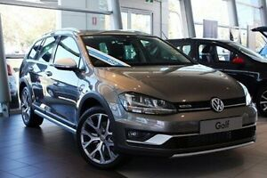 2016 Volkswagen Golf VII MY17 Alltrack DSG 4MOTION 132TSI Grey 6 Speed Sports Automatic Dual Clutch Frankston Frankston Area Preview