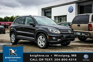 2013 Volkswagen Tiguan AWD 0.99% Financing Available OAC w/ Leat