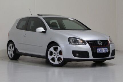2009 Volkswagen Golf 1K MY09 GTi Silver 6 Speed Direct Shift Hatchback St James Victoria Park Area Preview